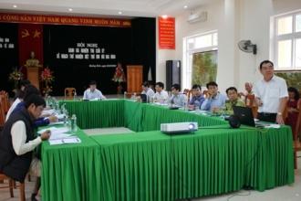 Hội nghị đánh giá nghiệm thu kế hoạch thử nghiệm diệt trừ loài Bìm bôi hoa vàng tại VQG Phong Nha – Kẻ Bàng